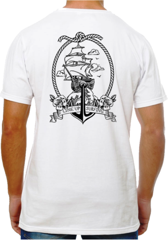 Camiseta Tattoo Carabela Bl.