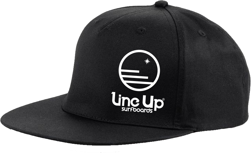 LINE UP SURFBOARDS GORRA_RAPPER_X_NEGRA